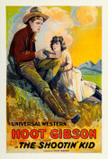 """Movie Posters:Western, The Shootin' Kid (Universal, 1920). One Sheet (27.25"""" X 40"""").. ..."""