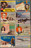 """Movie Posters:Documentary, With Byrd at the South Pole (Paramount, 1930). Lobby Card Set of 8 (11"""" X 14"""").. ... (Total: 8 Items)"""