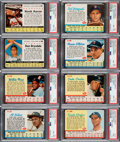 Baseball Cards:Lots, 1961 and 1962 Post Cereal Baseball PSA Graded Collection (59)....