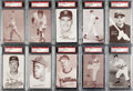 Baseball Cards:Lots, 1947-1966 Exhibits Baseball PSA-Graded Collection (27). ... (Total:27 items)