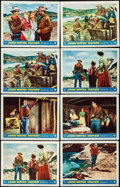 "Movie Posters:Western, Hondo (Warner Brothers, 1953). Lobby Cards (8) (11"" X 14"") 3-DStyle. Western.. ... (Total: 8 Items)"