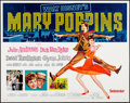 """Movie Posters:Fantasy, Mary Poppins & Other Lot (Buena Vista, R-1973). Half Sheets (2)(22"""" X 28""""). Fantasy.. ... (Total: 2 Items)"""