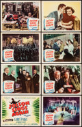 "Movie Posters:Musical, Jolson Sings Again (Columbia, 1949). Lobby Card Set of 8 (11"" X 14""). Musical.. ... (Total: 8 Items)"