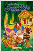"Movie Posters:Animation, Snow White and the Seven Dwarfs (Buena Vista, R-1987). 50th Anniversary Posters (2) (23"" X 35"") 2 Styles. Animation.. ... (Total: 2 Items)"