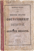 Books, Heath, Laban. The United States Counterfeit Detector, and Teachers' Guide. ...