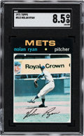 Baseball Cards:Singles (1970-Now), 1971 Topps Nolan Ryan #513 SGC NM/MT+ 8.5....