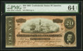 Confederate Notes:1864 Issues, T67 $20 1864 PF-27 Cr. 527.. ...