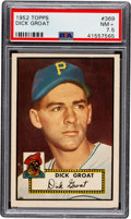 Baseball Cards:Singles (1950-1959), 1952 Topps Dick Groat #369 PSA NM+ 7.5....