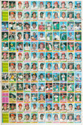 Baseball Cards:Lots, 1976 Topps Baseball Uncut Sheet With 132 Cards....