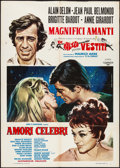 """Movie Posters:Foreign, Famous Love Affairs (Cosmos, R-1973). Italian 2 - Fogli (39.25"""" X 55""""). Foreign.. ..."""
