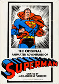 """Movie Posters:Animation, Superman Cartoon (Murray Hill, R-1970s). One Sheet (27.25"""" X 39.5""""). Animation.. ..."""