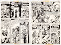 Original Comic Art:Panel Pages, John Calnan and Tex Blaisdell House of Mystery #258 StoryPages 2 and 3 Original Art Group of 2 (DC, 1978).... (Total: 2Original Art)