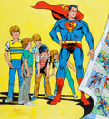Original Comic Art:Covers, Wayne Boring Superboy #1 Reimagined Cover Original Art(1982)....