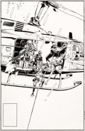 Original Comic Art:Covers, Michael Golden The 'Nam #42 Original Cover Art (Marvel, 1990)....