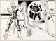 Bob Brown and Don Heck Daredevil #109 Double-Page Spread 8 and 9 Original Art (Marvel, 1974)