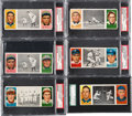 Baseball Cards:Lots, 1912 T202 Hassan Triple Folders Graded Collection (6) Plus EraPack. ...