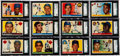 Baseball Cards:Sets, 1955 Topps Baseball SGC Graded Near Set (185/206)....