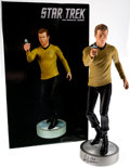 Memorabilia:Science Fiction, Star Trek Captain Kirk 1:4 Scale Limited, Numbered Statue Signed by William Shatner #77/100 (Hollywood Collectibles Gr...