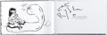 Original Comic Art:Sketches, KRK Ryden Sketch in Signed Book and Related Items Group of 3 (Various Publishers, 2010s).... (Total: 3 Items)