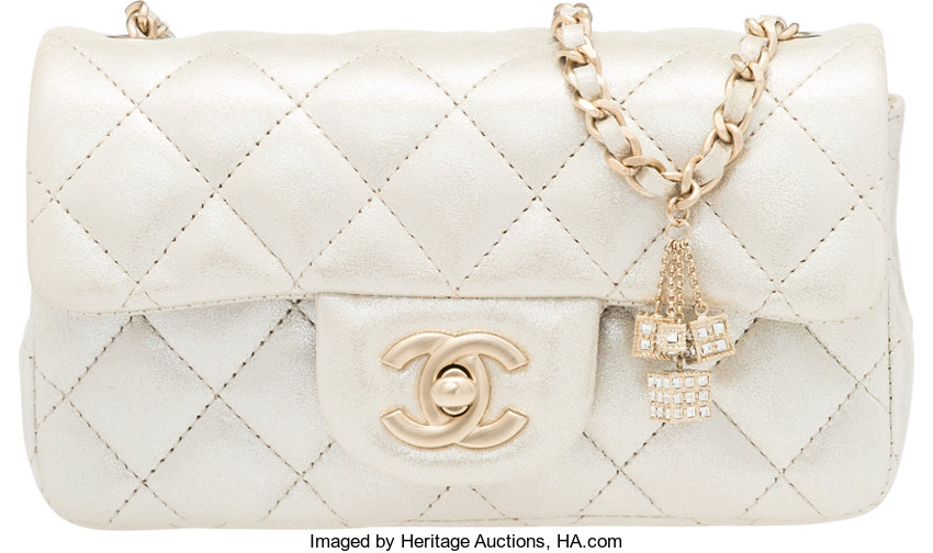 85216b3a571ad Chanel Limited Edition Las Vegas Metallic Quilted Lambskin