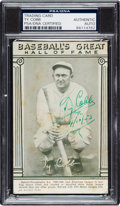 Autographs:Sports Cards, Signed 1948 Baseball's Great HoF Exhibits Ty Cobb PSA/DNA Authentic. ...