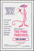 """Movie Posters:Animation, Pink Pajamas (United Artists, 1964). One Sheet (27"""" X 41""""). Animation.. ..."""