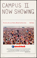 """Movie Posters:Rock and Roll, Woodstock (Warner Brothers, 1970). Window Card (14"""" X 22""""). Rock and Roll.. ..."""