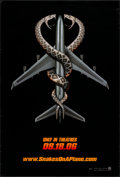 "Movie Posters:Thriller, Snakes on a Plane (New Line, 2006). One Sheet (27"" X 40""). Thriller.. ..."
