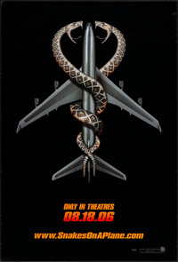 """Snakes on a Plane (New Line, 2006). One Sheet (27"""" X 40""""). Thriller"""
