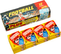 1969 Topps Football Series 1 Wax Box With 21 Unopened Packs!