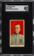 Baseball Cards:Singles (Pre-1930), 1909-11 T206 Sweet Caporal Ty Cobb (Red Portrait) SGC VG/EX 4....