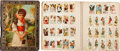 Non-Sport Cards:Lots, 19th Century Scrapbook With Hundreds of Non-sports Cards (650+)! ...