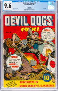 Golden Age (1938-1955):War, Devil Dogs #1 Pennsylvania Pedigree (Street & Smith, 1942) CGC NM+ 9.6 White pages....