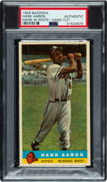 Baseball Cards:Singles (1950-1959), 1959 Bazooka Hank Aaron (Name In White) PSA Authentic. ...