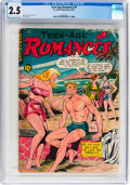 Golden Age (1938-1955):Romance, Teen-Age Romances #9 (St. John, 1950) CGC GD+ 2.5 Cream tooff-white pages....