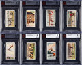 """Olympic Cards:General, 1929 Churchman """"Sports & Games in Many Lands"""" High Grade BVGGraded Complete Set (25) - Includes EX-MT #25 Ruth...."""