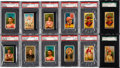 """Olympic Cards:General, 1888 N162 Goodwin """"Champions"""" PSA/SGC Graded Collection (12). ..."""