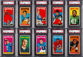 Football Cards:Lots, 1965 Topps Football High Grade Collection (383)....