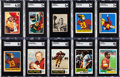 Football Cards:Lots, 1948 - 1995 Washington Redskins Bowman and Topps Football Collection (670)....
