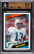 Football Cards:Singles (1970-Now), 1984 Topps Dan Marino #123 BGS Gem Mint 9.5. ...