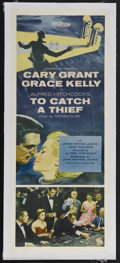 """Movie Posters:Hitchcock, To Catch a Thief (Paramount, 1955). Insert (14"""" X 36""""). Romantic Mystery. Starring Cary Grant, Grace Kelly, Jessie Royce Lan..."""