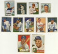 Autographs:Sports Cards, 1950's Bowman & Topps Signed Cards Lot of 39. Assortment ofvintage cardboard, with each card signed by the player pictured...