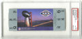 Football Collectibles:Tickets, 1985 Super Bowl XIX Football Full Ticket PSA NM-MT 8. Offered is a PSA-graded full ticket from the 1985 Super Bowl played at...