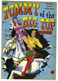 Tommy of the Big Top #12 (King Features Syndicate, 1949) Condition: Qualified VF+