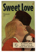 Golden Age (1938-1955):Romance, Sweet Love #1 (Harvey, 1949) Condition: VF....