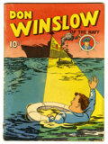 Golden Age (1938-1955):Adventure, Four Color (Series One) #2 Don Winslow (Dell, 1939) Condition: VG-....