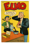 Golden Age (1938-1955):Humor, Elmo Comics #1 Windy City pedigree (St. John, 1948) Condition: FN/VF....