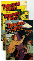 Golden Age (1938-1955):Miscellaneous, Treasure Chest Group - Mile High pedigree (George A. Pflaum, 1949-50).... (Total: 4)