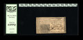Colonial Notes:New Jersey, New Jersey December 31, 1763 6s Very Choice New....