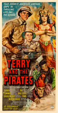 "Movie Posters:Serial, Terry and the Pirates (Columbia, 1940). Three Sheet (41.5"" X 80.5"").. ..."